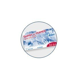 Guantes de latex con polvo BEHOLI