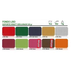 Papel Regalo Kraft Fondo Liso 70 cm