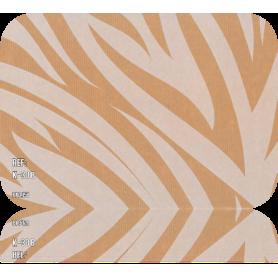 Papel Regalo Zebra Kraft