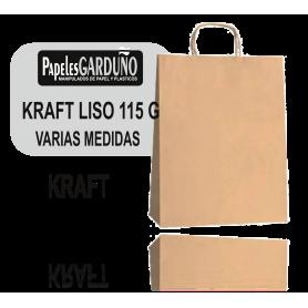 BOLSAS KRAFT LISO 115 ASA RETORCIDA