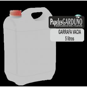 Garrafa 5 litros vacia