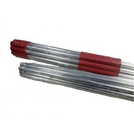 Palo aluminio doble maneta - Azul