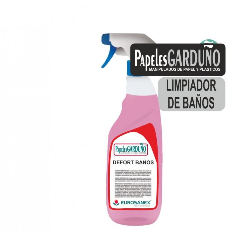 DEFORT BAÑOS Limpiador diario de baños
