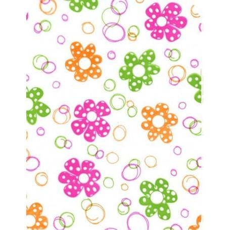 Polipropileno impreso Flores