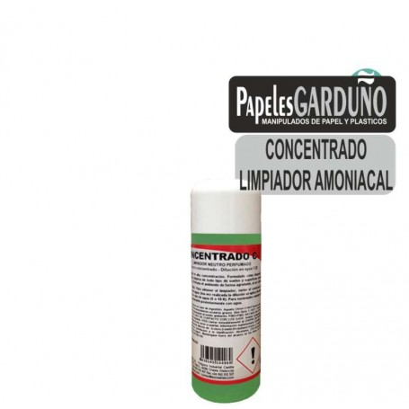 Limpiador amoniacal concentrado Low cost C3 250ml