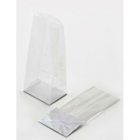 Bolsas con fondo cuadrado de polipropileno transparente 30+6x10