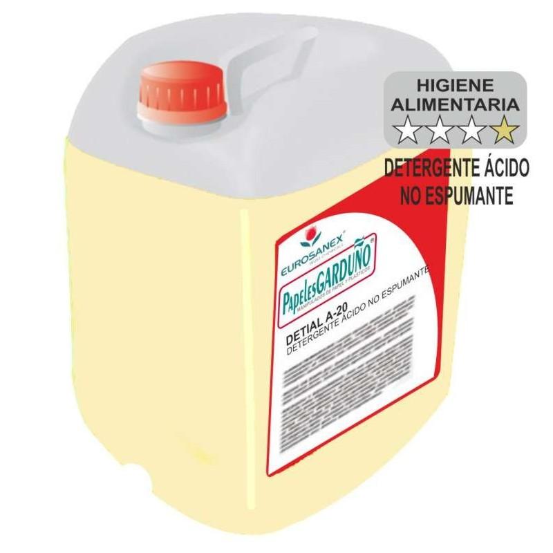 DETIAL A-20 Detergente Ácido No Espumante