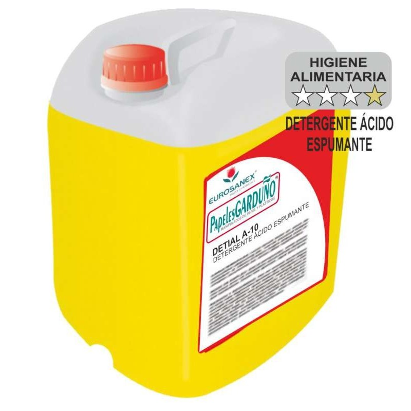 DETIAL A-10 Detergente Ácido Espumante