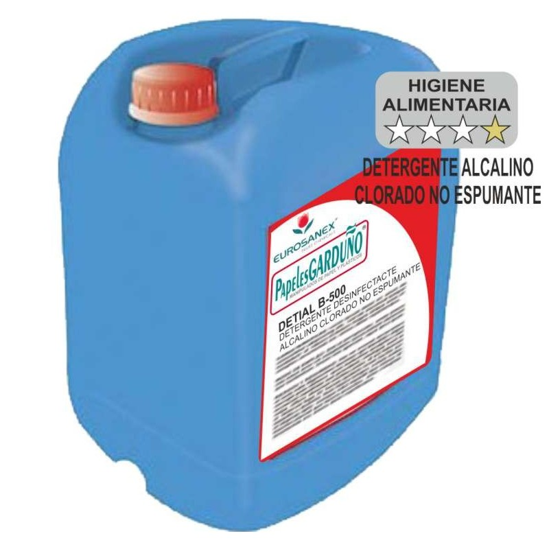 DETIAL B-500 Limpiador Desinfectante No Espumante