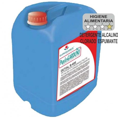 DETIAL B-600 Limpiador Desinfectante Espumante