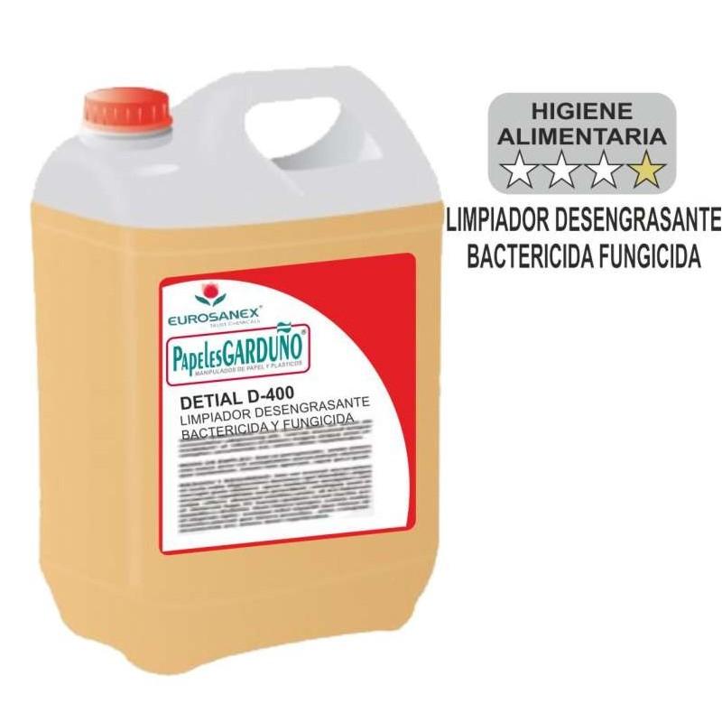 DETIAL D-400 Desengrasante Bactericida y Fungicida