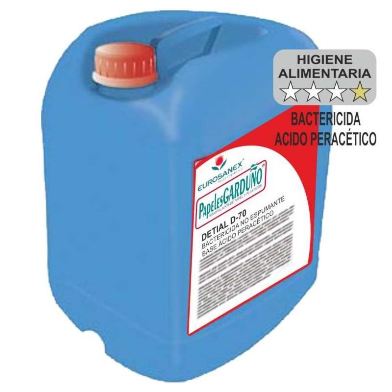 DETIAL D-70 Desinfectante Ácido Peracético
