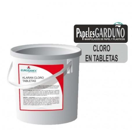Klaran cloro en tabletas 200 gr