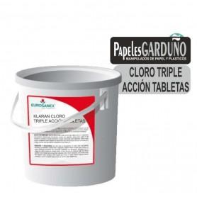 Klaran cloro en tabletas triple accion