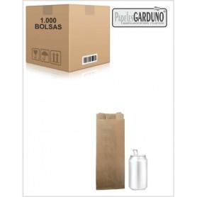 Bolsas de papel kraft 10+6x31 sin impresion