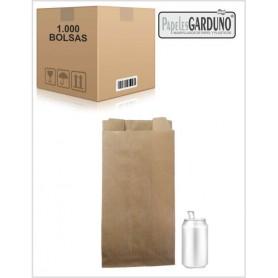 Bolsas de papel kraft 18+7x35 sin impresion