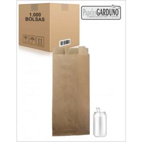 Bolsas de papel kraft 18+7x41 sin impresion