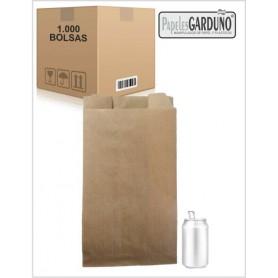 Bolsas de papel kraft 23+10x41 sin impresion