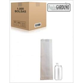 Bolsas de papel celulosa 10+6x32  sin impresion