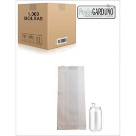 Bolsas de papel celulosa 14+7x32  sin impresion