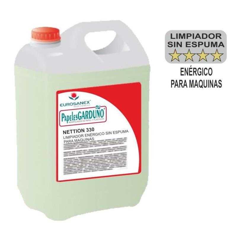 Limpiador Enérgico para Maquinas NETTION 330 - garrafa 5 litros