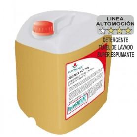 Detergente para vehiculos Súper espumante DELENEX ACTIVO