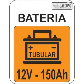 Bateria tubular 12v-150 Ah