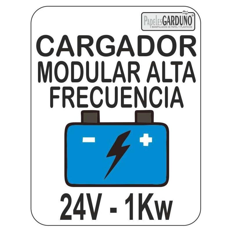 Cargador Modular de alta frecuencia de baterias 24v - 1Kw