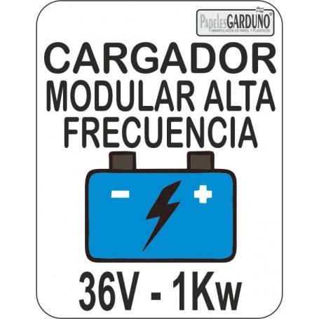 Cargador Modular de alta frecuencia de baterias 36v - 1Kw