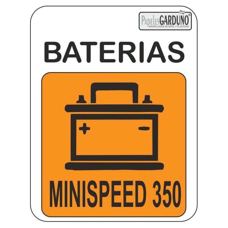 Pack de baterias MINISPEED 350 B