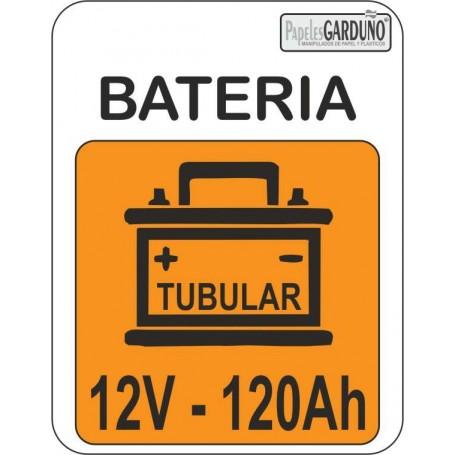 Bateria tubular 12v-120 Ah