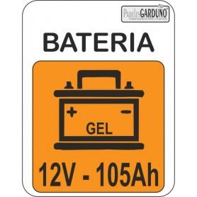 Bateria de gel 12V - 105Ah