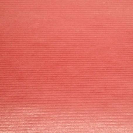 511K1-R-Papel Regalo Kraft Fondo Liso rojo 62 cm