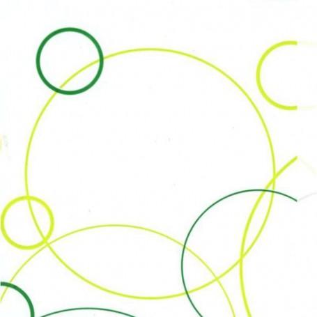 Polipropileno impreso Aros verde - verde lima