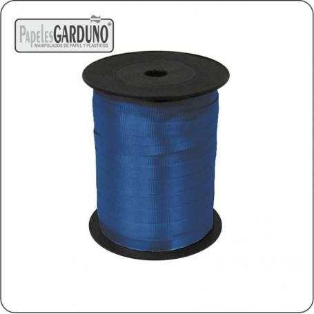 Cinta polipropileno rugoso 5 mm azul