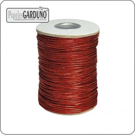 Cordon metalizado 1 mm color - 150 metros