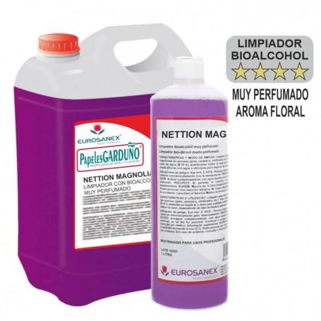 Limpiador neutro con Bioalcohol NETTION MAGNOLIA