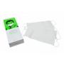 Mascarilla Blanca 1 pliegue con gomas - Dispensador 100