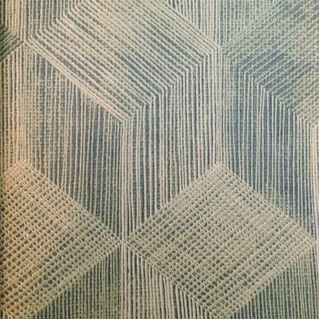5111752-Papel Regalo Telar Reciclado fondo verde