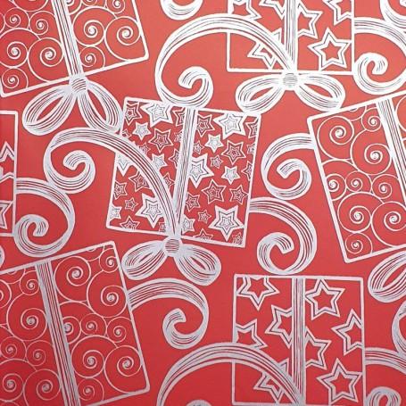 509016-Papel Regalo motivos regalos 70 fondo rojo
