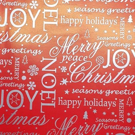 5091706-Papel Regalo Navidad Merry Christmas