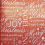 5121705-Papel Regalo Navidad Merry Christmas Kraft fondo rojo