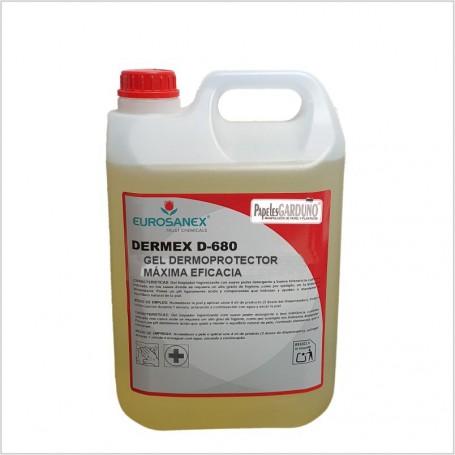Gel dermoprotector DERMEX D-680 maxima eficacia