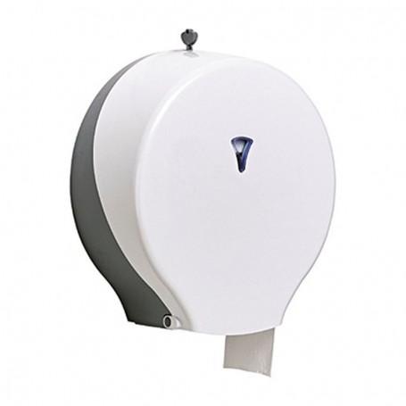 Portarollos higiénico industrial EUROTEC - ABS Blanco