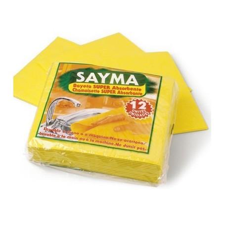 Bayetas amarillas 12 unidades