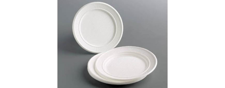 Platos de Plásticos