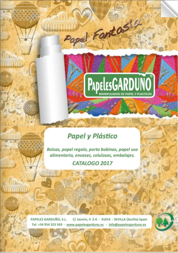 Catalogo Papel Regalo 2017